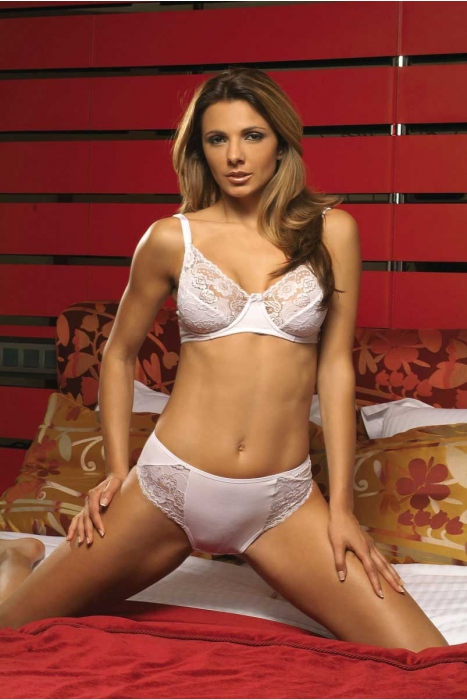 Ladies Cotton Set Corsage Bra & Kurze Clasic 2103-026