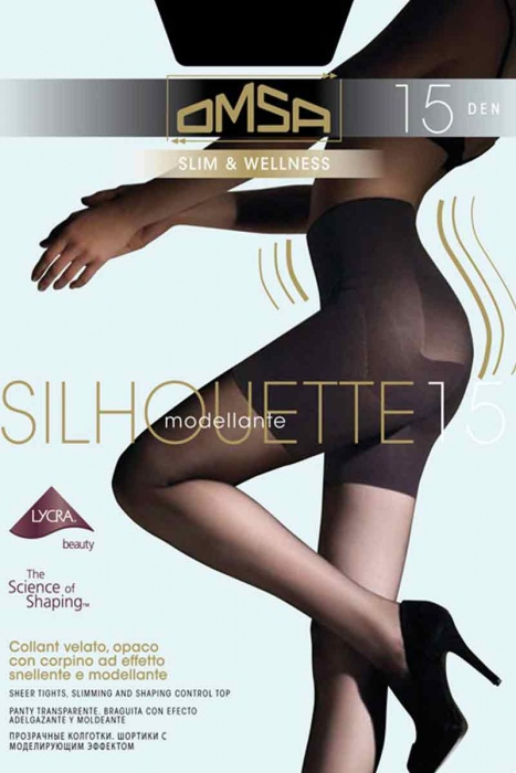 Tights adstringierend Shaping 15 Den Omsa 4028