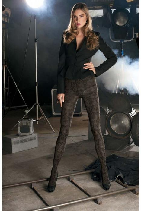 Fashion Figural Tights Trasparenze Fiction