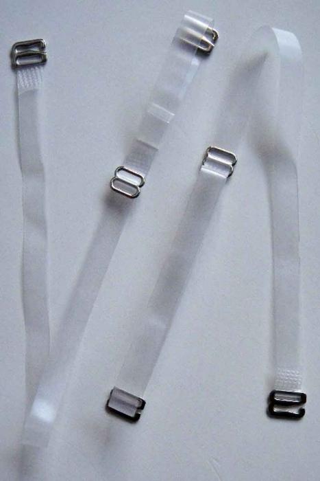 Silikon-Riemen mit Metall-Tipp für BH