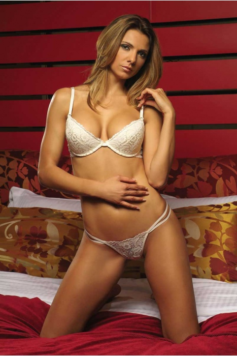 Stylish Lace Set BH & G-String Höschen 5611-737