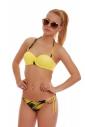 Bikini Set Push up Balconette & Bikini Böden dünne Krawatte 1725