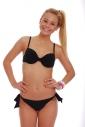 Bikini-Set Formfest cup & Bänder binden Seitenböden 1185