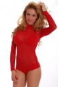 Womеn Bodysuit Rollkragen durch Bikini-Stil 338 sehen
