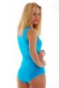 Baumwolle Frauen Vest Bodysuit Bikini-Art 1365
