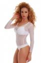 Frauen Bodysuit auf SALE 370 weiß