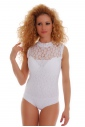 Body ohne Ärmel Halb-Polo Bikini 1463