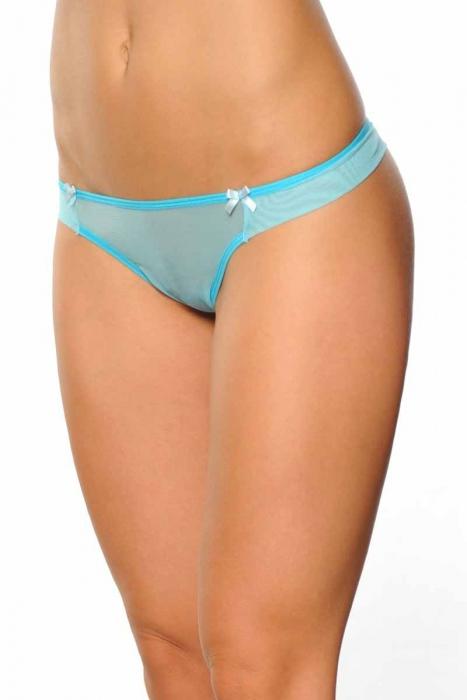 Tulle Brazilian Panties 073