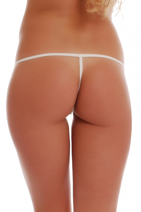 Cotton Panties G-String Stil mit Strip Zurück 1016