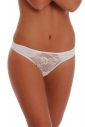 Klassische Cotton Panties Thong Stil mit Spitze 1456