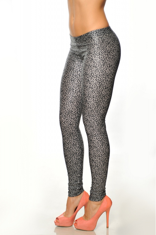 Frauen-elastische Leggings drucken 1505-4