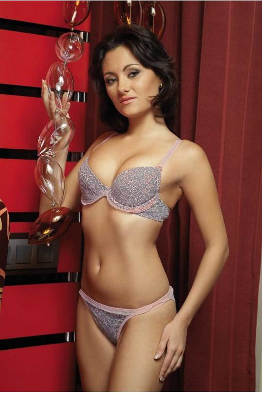 Cotton Lady Set BH & Tanga Pantiesi 2131-1215A