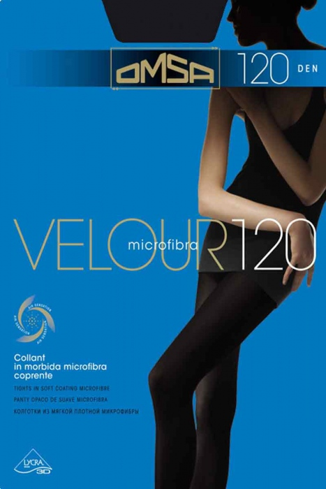 Tights Matt Velur 120 Der Omsa 198