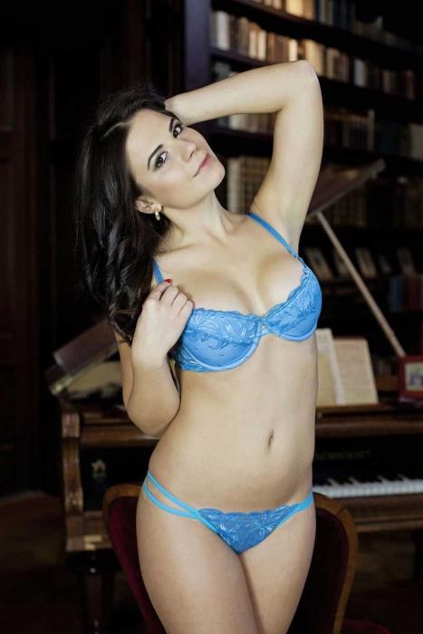 Damen Lace Set Bra & G-String Höschen 5611-0204