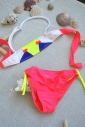 1d09ce46e6719 ... Kinder Bikini Badeanzug Bando Böden mit Krawatten 1113