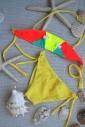 533b80f05692b ... Kinder Bikini Badeanzug Bando Böden mit Krawatten 1113 ...