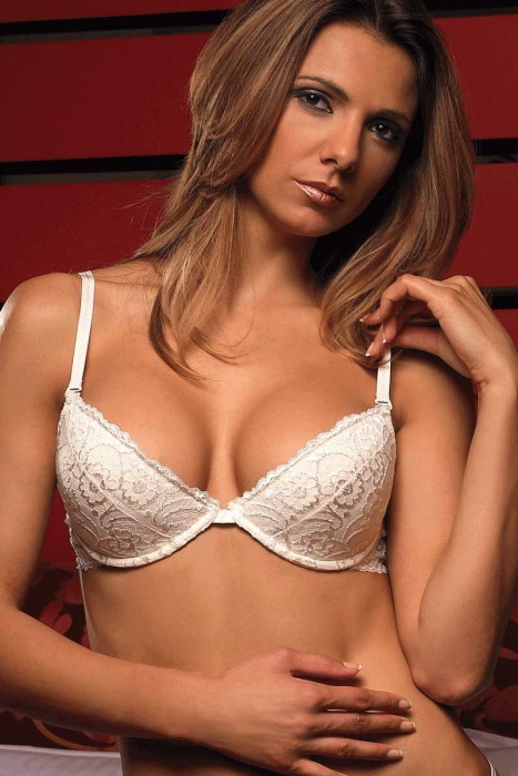 Stylish Lace BH - Hard Cup 5611