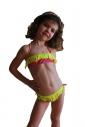 0ebcd577299e9 ... Kinder Bikini Badeanzug bando macrame Böden mit Krawatten 1115