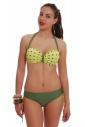 Bikini Set Push up Balconette & Bikini Böden 1735