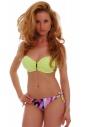 Bikini Set Push up Balconette & Bikini Böden 1745