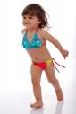 4394472e91773 Kinder Bikini Badeanzug weiche Dreieck Böden mit Krawatten 1114 ...