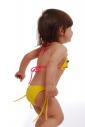 12b50396a86e4 ... Kinder Bikini Badeanzug weiche Dreieck Böden mit Krawatten 1114 ...