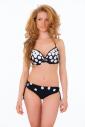 Bikini-Set hart geformte Tasse kurze Stil 1192