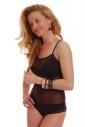 Frauen Bodysuit Dünner Strap See Durch Weste Bikini Style 324