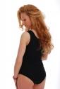 Baumwoll-Frauen-Bodysuit Weste-Bikini-Art 1365
