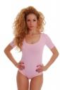 Baumwoll-Bodysuit Rundhals Kurzarm Tanga Style 1440