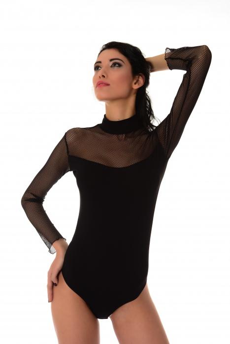 Baumwolle Frauen Extravagant Bodysuit 1357