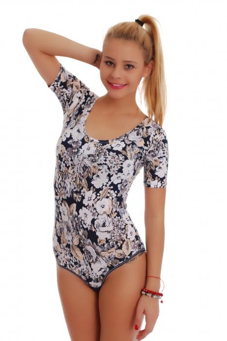 Bodysuit Kurzarm Bikini 1450