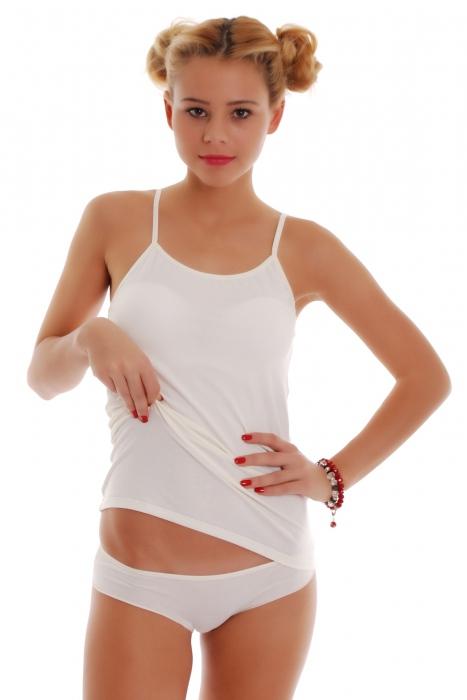 Damen Set Weste Thin Straps & Bikini Höschen 1206-1225
