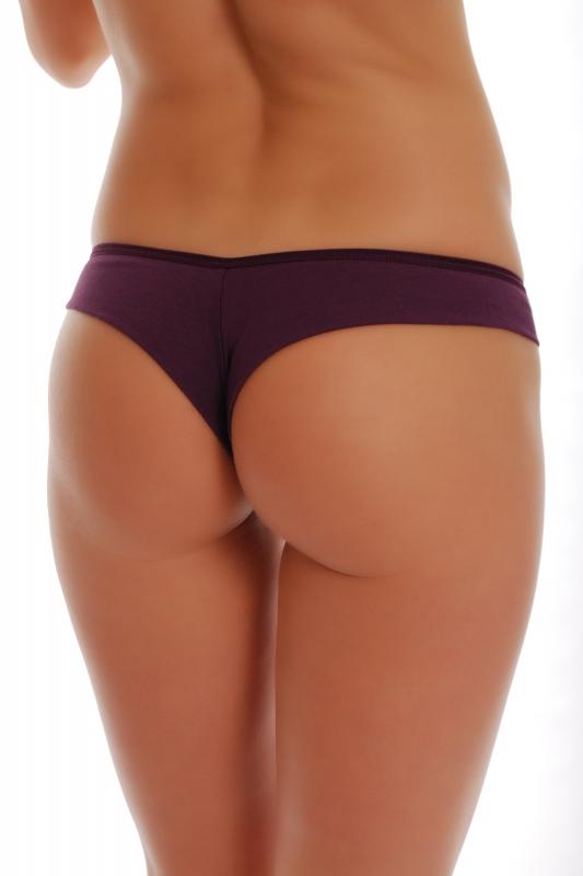 Cotton Brazilian Thong 1073